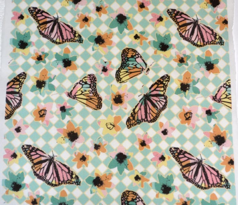 Spring Checkerboard Butterflies