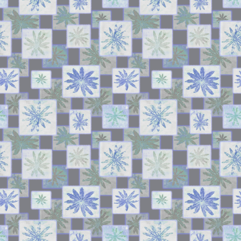 lupine shadows fabric by keweenawchris on Spoonflower - custom fabric