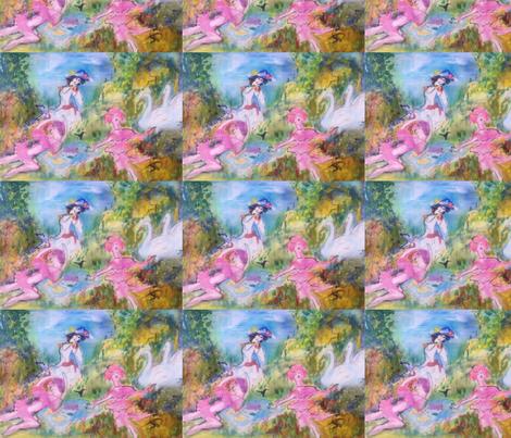 Pink poodle picnic