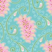 Cute Paisley Pattern