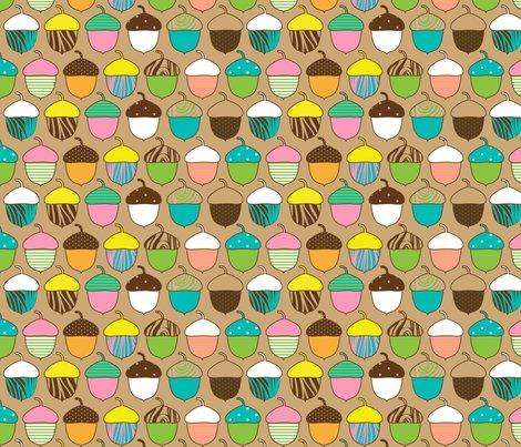 Woodland_accorns_spoonflower_shop_preview