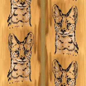 Maple Serval Stripe