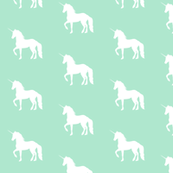 Prancing Unicorn on Mint