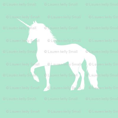 Prancing Unicorn on Mint