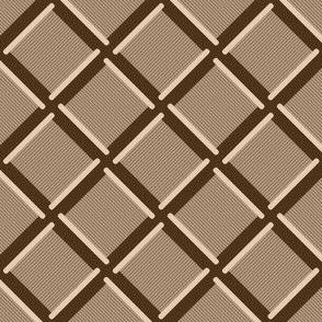 cotton reel diagonal check