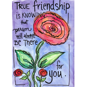 Friendship rose