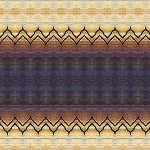 Rustic Stripe Zigzag Pattern