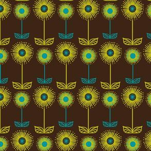 Zoë's floral stripe