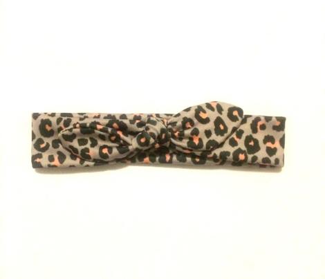 Leopard - Peach Plum