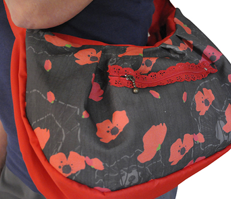 Poppies into my bag