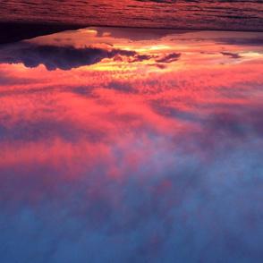 Maui sunset explosion
