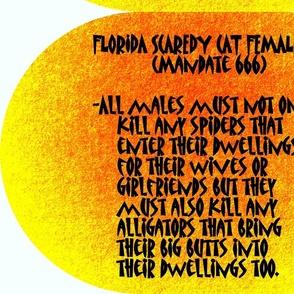Florida Scaredy Cat Female Law