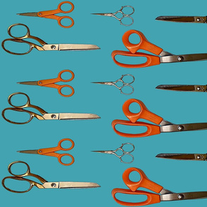 Scissors_on_Turquoise