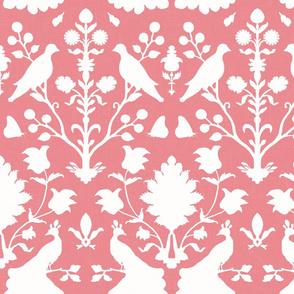 Oiseaux in Vibrant Pink