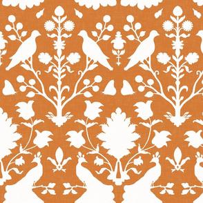 Oiseaux in Tangerine