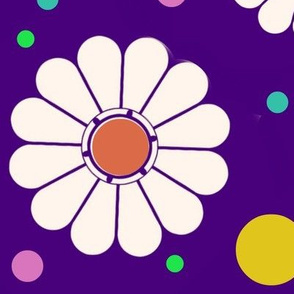 Mod Pop Japanese Daisies