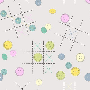 Buttons-Tac-Toe