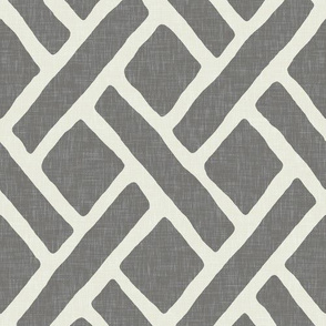 Savannah Trellis in Gray