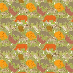 Rhino camouflage