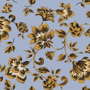 Fleurs de Provence ~ Gilt on Henriette