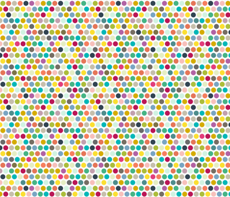 camper dot fabric by scrummy on Spoonflower - custom fabric