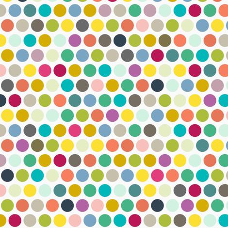 camper dot fabric by scrummy on Spoonflower - custom fabric