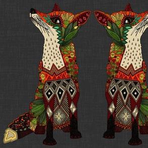 fox love lead linen