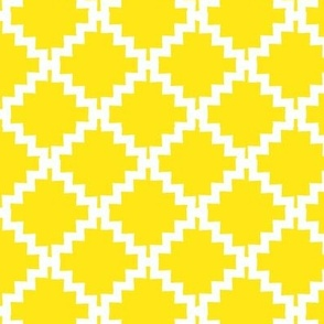 Jagged Geo Yellow