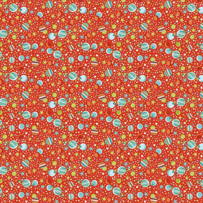 multitude of stars red