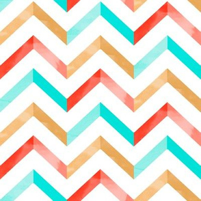 Watercolor Chevron