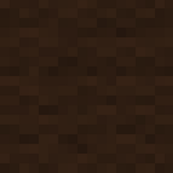 Minecraft Brown Wool - Extra Large