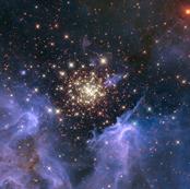 Starburst Cluster Shows Celestial Fireworks (2010-07-06)