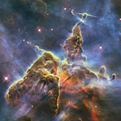 Hubble Captures View of 'Mystic Mountain' (2010-04-22)