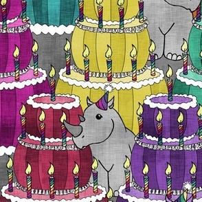 Rhino's 1st Birthday