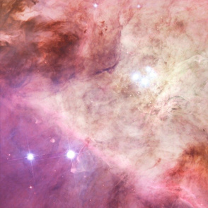Orion Nebula's Biggest Stars