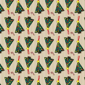 Stitched Christmas Tree Pattern
