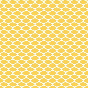 Lemon Oval Ikat Mini