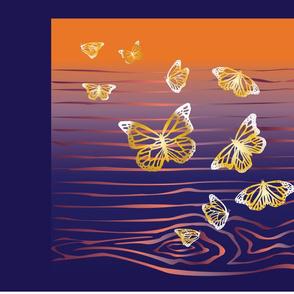 Butterflies pillow tops