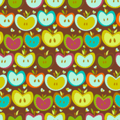 Sweet apples pattern