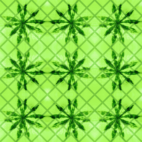 lupine lattice fabric by keweenawchris on Spoonflower - custom fabric