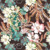 Nostalgic floral in pink