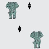 Geometric elephant