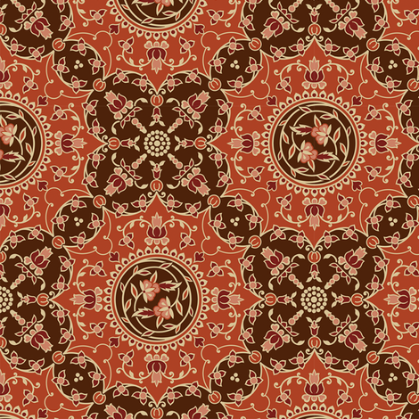 Damask 14a fabric by muhlenkott on Spoonflower - custom fabric