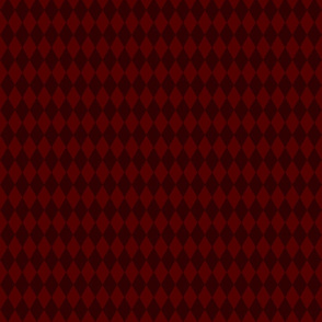 Harley Quinn diamond pattern (red)