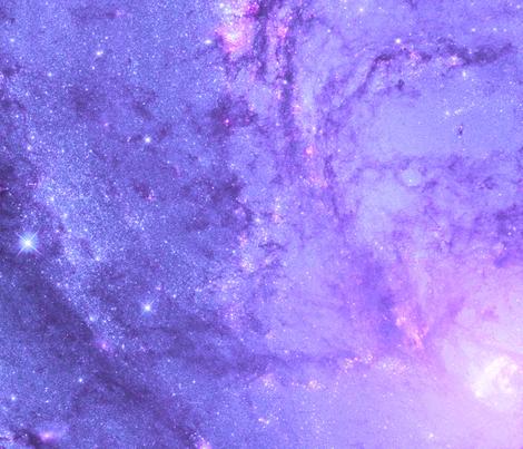 HD Stellar Genesis in M83 fabric by curiosity on Spoonflower - custom fabric