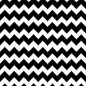 Chevron Pattern Black and White