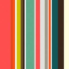 retro stripe