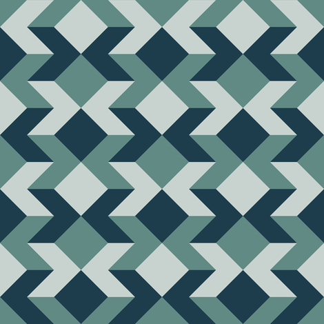 chevron square 2x x3