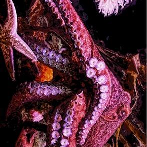 Kraken 66 x 44 Sarong