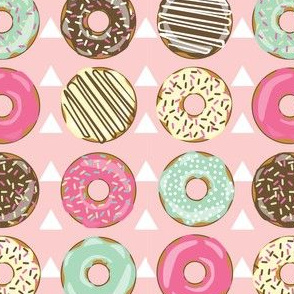 DONUTS AND TEEPEE PINK
